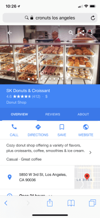 Screen shot of Google My Business